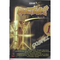 Dvd Original Multiokê Gospel Line Records Vl.1 (cx 48)