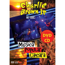 Charlie Brown Jr Musica Popular Caicara Dvd+cd Lacrado Novo