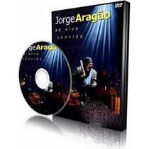 Jorge Aragão Ao Vivo Convida Dvd + Cd Original Lacrado