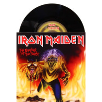 Lp Vinil Compacto Iron Maiden The Number Of The Beast Novo