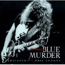 Cd Blue Murder - Dedicated To Phil Lynott - Imp!!
