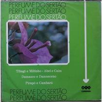 Lp Perfume Do Sertão (varias Duplas) Selo Carmona Original