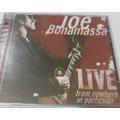 Cd Joe Bonamassa Live From Nowhere In Particular Cd Duplo