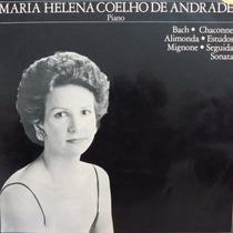 Lp - Maria Helena Coelho De Andrade Piano Bach Vinil Raro