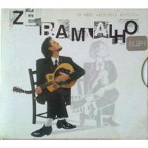 Cd Zé Ramalho - 20 Anos Antologia Acústica - Duplo 2 Cds