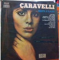 Lp Vinil Caravelli 1971 Orquestra Capa Dura Disco Antigo B+