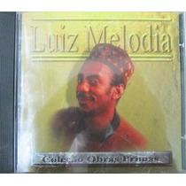 Cd De Musica Luiz Melodia Col. Obras Primas Usado