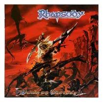 Cd- Rhapsody - Dawn Of Victor - Original- + Brinde -