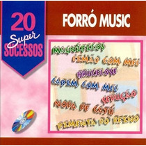 Cd Forró Music 20 Super Sucessos