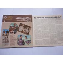 Lp Vinil Livro Musica Caipira/tonico E Tinoco/tiao Carreiro