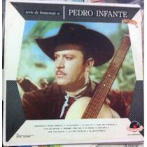 Lp Vinil Pedro Infante Homenagem Antigo Polydor Capa Dura B+