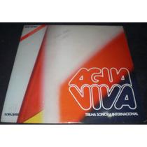 Lp Novela Água Viva Internacional - 1979