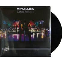 Lp Vinil Metallica S&m Triplo Novo Importado Lacrado