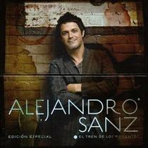 Cd+dvd Alejandro Sanz El Tren De Los Momentos Edicion Especi