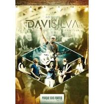 Davi Silva Dvd - Porque Sois Fortes - Original