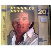 Cd Reginaldo Rossi Seleçao De Ouro 20 Sucessos 1998 Emi