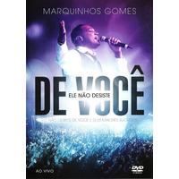 Marquinhos Gomes - Ele Não Desiste De Você Dvd - Ao Vivo