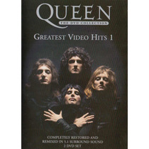 Dvd Queen - Greatest Video Hits 1 (duplo)