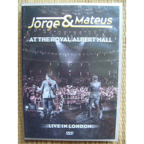 Dvd Jorge & Mateus Live In London At The Royal Albert Hall