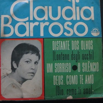 Claudia Barroso - Um Sorriso O Silencio Compacto Vinil Raro