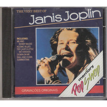 Cd Janis Joplin - The Very Best Of ( Frete Gratis )