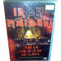 Dvd Iron Maiden Lacrado = Live Castle Donington England 1992