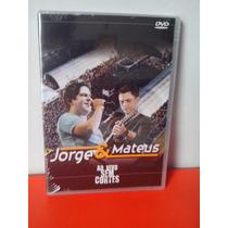 Jorge E Mateus - Ao Vivo Sem Cortes - Dvd Novo Lacrado