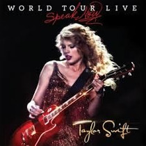Dvd Taylor Swift - Speak Now: World Tour Live ( Lacrado )