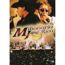 Milionario E Jose Rico Dvd Original Novo E Lacrado 15 Apres