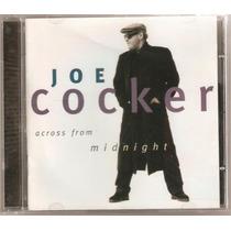Cd Joe Cocker - Across From Midnight (1997) Importado Usa