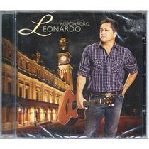 Cd Leonardo 2010 - Novo E Lacrado De Fabrica
