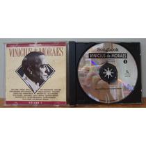 Cd Songbook Vinicius De Moraes - 1, 2 & 3 - Almir Chediak