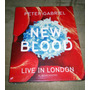 Blu-ray Peter Gabriel: New Blood Live London 3d (lacrado)