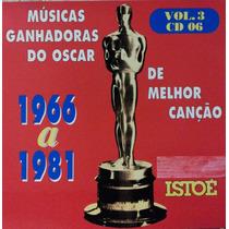 Cd Músicas Ganhadoras De Oscar De Melhor Canção Vol 3