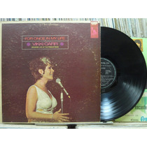 Vikki Carr For Once In Life Lp Importado Estéreo Capa Dupla