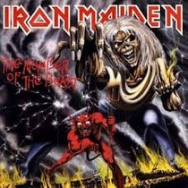 Cd Iron Maiden - The Number Of The Beast (enhanced)