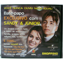 Cd: Sandy & Júnior - Bate-papo Exclusivo Uol Shopping Music