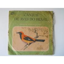 Cantos De Aves Do Brasil Por Johan Dalgas Frisch - Lp