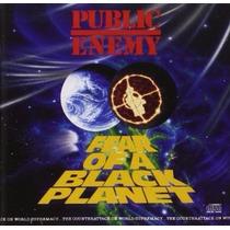 Cd Public Enemy Fear Os A Black Plane Importado Novo Lacrado