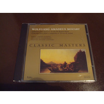 Wolfgang Amadeus Mozart Cd Classic Masters Otimo Estado