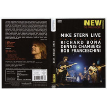 Mike Stern Live Dennis Chambers, Richard Bona - Dvd Original