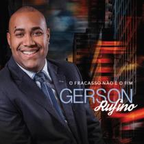 Cd Gerson Rufino - O Fracasso Não É O Fim / Bônus Playback.