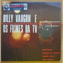 Billy Vaughn E Orquestra Compacto Vinil Os Filmes Da Tv Mono