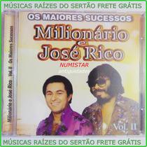 Cd Sertanejo Milionário E José Rico A Carta Coração Conselho
