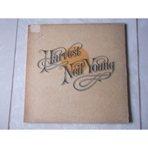 Lp Neil Young: Harvest 1971 Importado Usa C/encarte Original