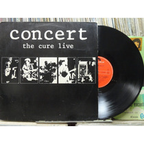 The Cure Live Concert Lp Polydor 1985 Estereo