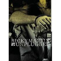 Ricky Martin Mtv Unplugged Dvd Original Lacrado Sony Music