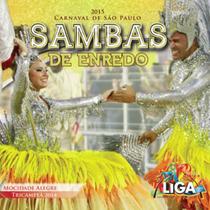 Cd Carnaval De São Paulo 2015 Sambas De Enredo Duplo