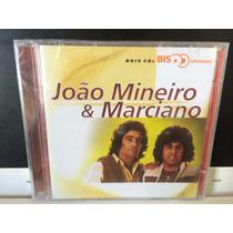 João Mineiro E Marciano, Cd Duplo Série Bis, 2000 Lacrado