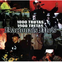 Cd - Racionais Mc´s - 1000 Trutas 1000 Tretas - Lacrado